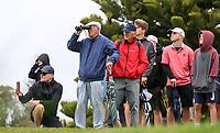 Spectators during the Jennian Homes Charles Tour Taranaki Open, New Plymouth Golf Course, Sunday 18 October 2020. Photo: Simon Watts/www.bwmedia.co.nz