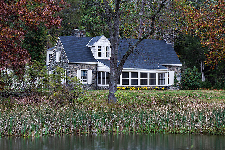 Val-Kil, Stone Cottage, Eleanor Roosevelt National Historic Site, Hyde Park, New York, USA