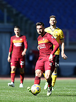 Football, Serie A: AS Roma -  Udinese, Olympic stadium, Rome, February 14, 2021. <br /> Roma's Bryan Cristante in action during the Italian Serie A football match between Roma and Udinese at Rome's Olympic stadium, on February 14, 2021.  <br /> UPDATE IMAGES PRESS/Isabella Bonotto