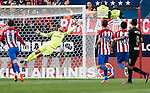 Goalkeeper Jan Oblak of Atletico de Madrid in action during their La Liga match between Atletico de Madrid and Granada CF at the Vicente Calderon Stadium on 15 October 2016 in Madrid, Spain. Photo by Diego Gonzalez Souto / Power Sport Images