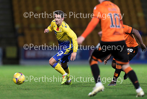 St Johnstone v Dundee United…10.11.20   McDiarmid Park      BetFred Cup<br />Craig Bryson breaks forward<br />Picture by Graeme Hart.<br />Copyright Perthshire Picture Agency<br />Tel: 01738 623350  Mobile: 07990 594431
