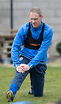 St Johnstone Training…14.04.17<br />Steven Anderson pictured during training at McDiarmid Park this morning ahead of tomorrow's game against Aberdeen.<br />Picture by Graeme Hart.<br />Copyright Perthshire Picture Agency<br />Tel: 01738 623350  Mobile: 07990 594431