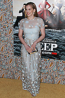 """HOLLYWOOD, LOS ANGELES, CA, USA - MARCH 24: Anna Chlumsky at the Los Angeles Premiere Of HBO's """"Veep"""" 3rd Season held at Paramount Studios on March 24, 2014 in Hollywood, Los Angeles, California, United States. (Photo by Xavier Collin/Celebrity Monitor)"""