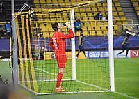 14th April 2021; Induna Park, Dortmund, Germany; UEFA Champions League Football quarter-final, Borussia Dortmund versus Manchester City;  Keeper Marwin Hitz Borussia Dortmund