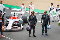 2021 FIA F1 British Grand Prix Silverstone Driver Arrivals Jul 15th