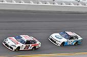 #20: Harrison Burton, Joe Gibbs Racing, Toyota Supra Dex Imaging, #02: Brett Moffitt, Our Motorsports, Chevrolet Camaro Plan B Sales