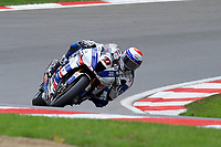 Jake Dixon (27) of RAF Regular and Reserves Kawasaki during 2nd practice in the MCE BRITISH SUPERBIKE Championships 2017 at Brands Hatch, Longfield, England on 13 October 2017. Photo by Alan  Stanford / PRiME Media Images.