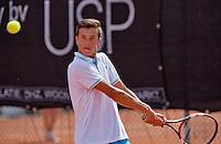 August 9, 2014, Netherlands, Rotterdam, TV Victoria, Tennis, National Junior Championships, NJK,  Ruben Konings (NED)<br /> Photo: Tennisimages/Henk Koster