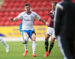 St Johnstone v Hearts...03.08.14  Steven Anderson Testimonial<br /> Michael O'Halloran<br /> Picture by Graeme Hart.<br /> Copyright Perthshire Picture Agency<br /> Tel: 01738 623350  Mobile: 07990 594431
