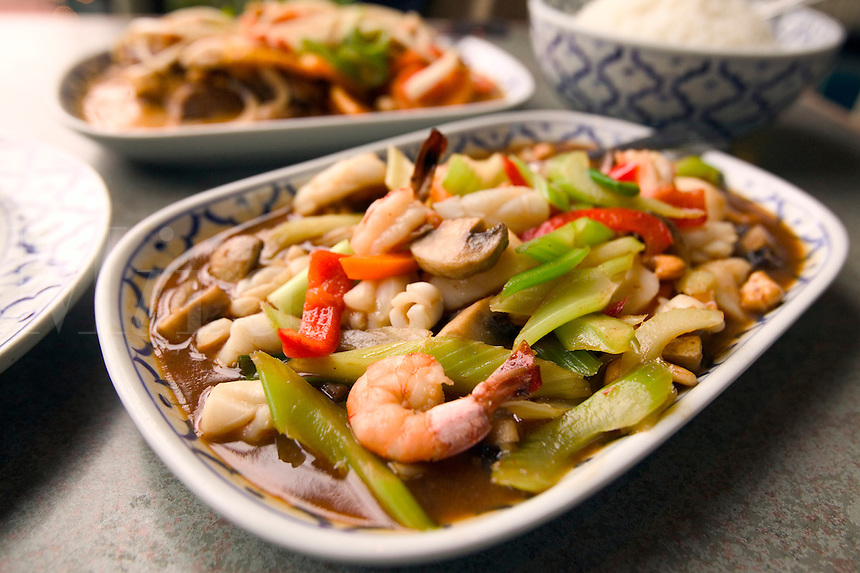 Siam Seafood Entree