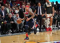 Isaiah Thomas (G, Washington Wizards, #4) - 22.01.2020: Miami Heat vs. Washington Wizards, American Airlines Arena