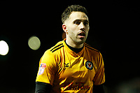 Robbie Willmott of Newport County after the final whistle of the Sky Bet League Two match between Newport County and Crawley Town at Rodney Parade, Newport, Wales, UK. 19 January 2018