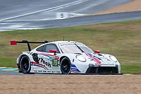 #79 Weathertech Racing Porsche 911 RSR - 19 LMGTE Pro, Cooper MacNeil, Earl Bamber, Laurens Vanthoor, 24 Hours of Le Mans , Race, Circuit des 24 Heures, Le Mans, Pays da Loire, France