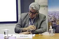Campinas (SP), 10/03/2021 - Dario Saadi - Sergio Bisogni, presidente da Rede Mario Gatti. O prefeito de Campinas (SP), Dario Saadi (Republicanos), realizou nesta quarta-feira (10), um anuncio com acoes emergenciais que serao tomadas para o combate a covid-19 na cidade. (Foto: Denny Cesare/Codigo 19/Codigo 19)