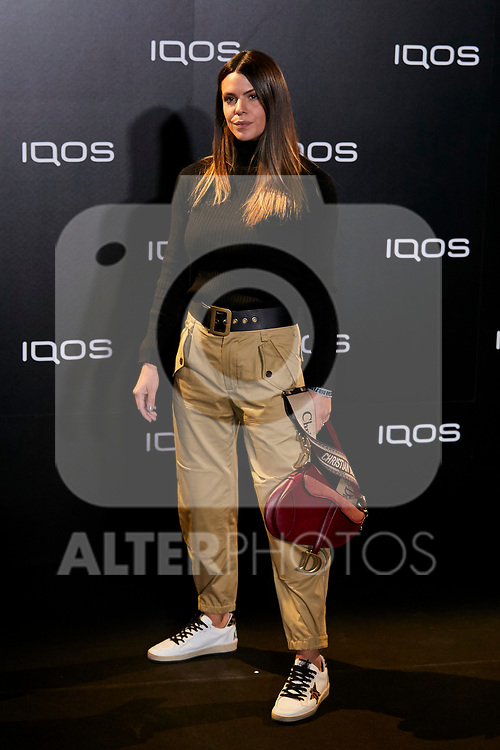 Laura Matamoros attends to IQOS3 presentation at Palacio de Cibeles in Madrid, Spain. February 13, 2019. (ALTERPHOTOS/A. Perez Meca)