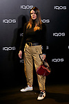 Laura Matamoros attends to IQOS3 presentation at Palacio de Cibeles in Madrid, Spain. February 13, 2019. (ALTERPHOTOS/A. Perez Meca)
