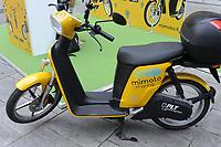"- Milano, primo raduno internazionale dei veicoli elettrici ""E_mob2018 è  tempo di ricarica!"". Ciclomotore elettrico<br /> <br /> - Milan, the first international meeting of electric vehicles ""E_mob2018 is charging time!"", Electric moped"