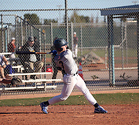 Jett Williams takes part in the 2020 Under Armour Pre-Season All-America Tournament at the Chicago Cubs training complex and Red Mountain baseball complex on January 18-19, 2020 in Mesa, Arizona (Bill Mitchell)