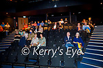 Audience attending the inaugural Ballybunion Arts Festival in the Tinteán Theatre in Ballybunion on Thursday