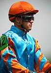 Louisville, KY- May 04:  Jockey, Javier Castellano at Churchill Downs in Louisville, KY on 05/04/12. (Alex Evers/ Eclipse Sportswire)