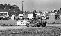 #2 Porsche 935 of Manfred Schurti, John Fitzpatrick, and Bob Wollek, 51st place and #62 Porsche 914 of  Bill Koll and Jim Cook, 17th place,   24 Hours of Daytona, Daytona International Speedway, Daytona Beach, FL, February 1979. (Photo by Brian Cleary/bcpix.com)