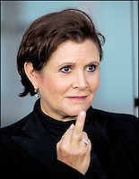 CARRIE FISHER @ the premiere of 'Sorority Row' held @ the Arclight theatre.<br /> September 3, 2009