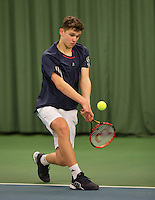 Rotterdam, The Netherlands, March 20, 2016,  TV Victoria, NOJK 14/18 years, Stijn Pel (NED)<br /> Photo: Tennisimages/Henk Koster