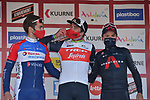 Mads Pedersen (DEN) Trek-Segafredo wins the 73rd edition of Kuurne-Brussel-Kuurne 2021 with Anthony Turgis (FRA) Total Direct Energie in 2nd place and Thomas Pidcock (GBR) Ineos Grenadiers 3rd running 197km from Kuurne to Kuurne, Belgium. 28th February 2021  <br /> Picture: Serge Waldbillig | Cyclefile<br /> <br /> All photos usage must carry mandatory copyright credit (© Cyclefile | Serge Waldbillig)