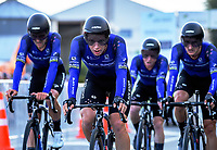 The Black Spokes. Masterton circuit team time trials - Stage One of 2021 NZ Cycle Classic UCI Oceania Tour at Mitre 10 Mega in Masterton, New Zealand on Wednesday, 13 January 2021. Photo: Dave Lintott / lintottphoto.co.nz