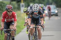 Wout Van Aert (BEL/Willems Veranda's - Crelan) & (later winner) Jasper de Buyst (BEL/Lotto-Soudal) at the front<br /> <br /> 10th Heistse Pijl 2017