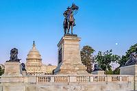 US Capitol Building Washington DC - Grant Memorial