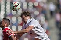 Carson, CA - Sunday, February 8, 2015: Matt Besler (5) of the USMNT. The USMNT defeated Panama 2-0 during an international friendly at the StubHub Center