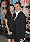 Jacinda Barrett (L) and Gabriel Macht at The Columbia Pictures' L.A. Premiere of The Ides of March held at The Academy of Motion Picture Arts & Sciences  in Beverly Hills, California on September 27,2011                                                                               © 2011 Hollywood Press Agency