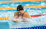 Wales Chloe Tutton in action during the 50m Breaststroke <br /> <br /> *This image must be credited to Ian Cook Sportingwales and can only be used in conjunction with this event only*<br /> <br /> 21st Commonwealth Games - Swimming -  Day 1 - 05\04\2018 - Gold Coast Optus Aquatic centre - Gold Coast City - Australia