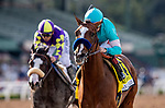 MAR 07: Authentic and Drayden Van Dyke defeat Honor AP to win the San Felipe Stakes at Santa Anita Park in Arcadia, California on March 7, 2020. Evers/Eclipse Sportswire/CSM