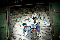 Food distribution in the south of the country by the United Nations World Food Programme (UN WFP).