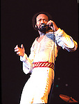 EARTH WIND & FIRE  Maurice White 1981.© Chris Walter.