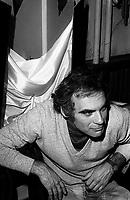 FILE PHOTO -  le comedien Jean-Rene Ouellette en 1979<br /> <br /> PHOTO :  Andre Boucher - Agence quebec Presse<br /> <br /> HI RES Sur demande - aucune restriction