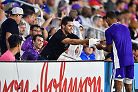 Orlando, FL - Wednesday July 31, 2019:  Fans, Nani #17 during an Major League Soccer (MLS) All-Star match between the MLS All-Stars and Atletico Madrid at Exploria Stadium.