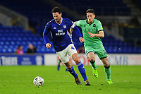 Sean Morrison of Cardiff City in action during the FA Cup third round match between Cardiff City and Carlisle United at the Cardiff City Stadium in Cardiff, Wales, UK. Saturday 04 January 2020