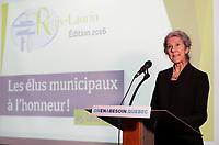 Remise du prix Regis-Laurin 2016<br /> <br /> <br /> PHOTO :   Pierre Roussel - Agence Quebec presse