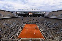 General view of Court Philippe Chatrier during the day four of the Tennis French Open on September 30, 2020 in Paris, France. (Photo by Baptiste Fernandez/Icon Sport) - --- - Roland Garros - Paris (France)