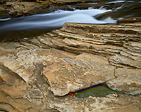 Waterfall on the Little River; Little River Canyon National Preserve, AL