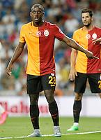 Galatasaray's Lionel Carole during XXXVI Santiago Bernabeu Trophy. August 18,2015. (ALTERPHOTOS/Acero)