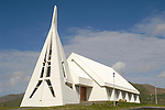 Church, Skagastrond, Iceland