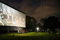 """Staten Island, NY - AUGUST 17: Atmosphere at the premiere event for FX's """"What We Do in the Shadows"""" at Snug Harbor on August 17, 2021 in Staten Island, New York. (Photo by Ben Hider/FX/PictureGroup)"""