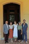 La llum d'Elna.<br /> Visita al rodaje.<br /> Pep Anton Muñoz, Natalia de Molina, Noemie Schmidt, Nausicaa Bonnin & Isak Ferriz.