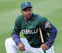 April 2, 2008: Coach Billy McMillon (6) of the Greenville Drive, Class A affiliate of the Boston Red Sox, during Media Day at Fluor Field at the West End in Greenville, S.C. Photo by:  Tom Priddy/Four Seam Images