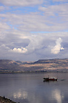 Israel, Sea of Galilee, the coast of Capernaum