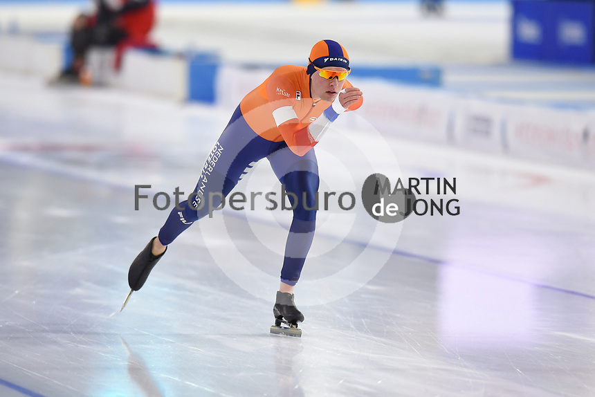 SPEEDSKATING: HEERENVEEN: 24-01-2021, IJsstadion Thialf,  ISU World Cup I, Marwin Talsma, ©photo Martin de Jong